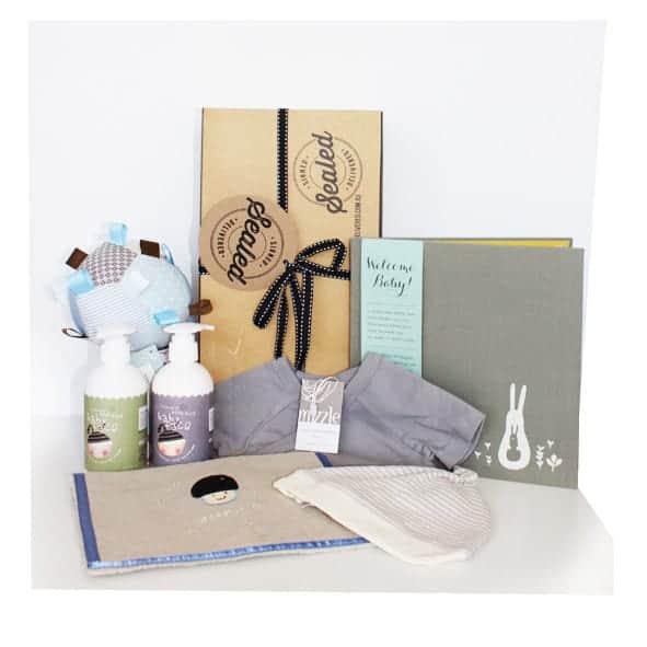 baby shower gifts signed sealed delivered