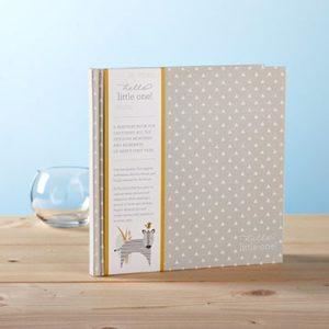 baby book newborn gift