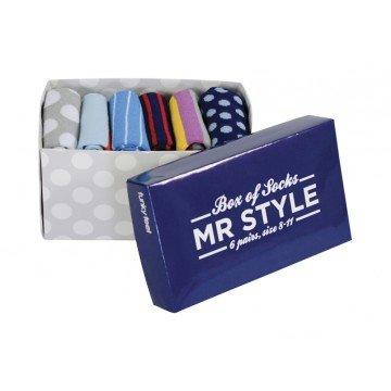 mr style gift box of socks