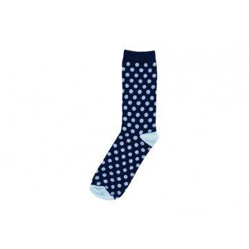 stylish polka dot sock gift