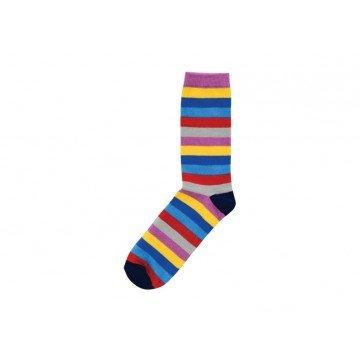 stylish stripy sock gift