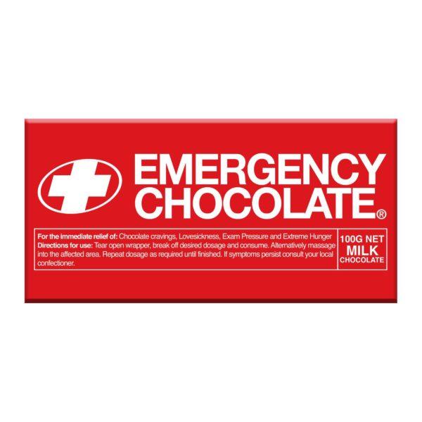 novelty emergency chocolate gift
