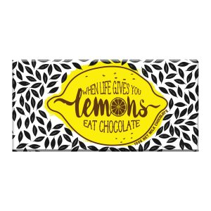 novelty chocolate block gift