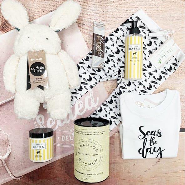 luxury baby gift hamper