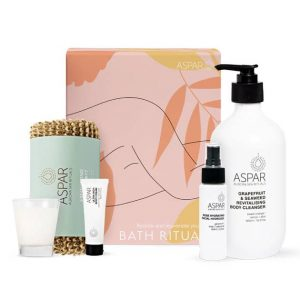 bath time gift hamper