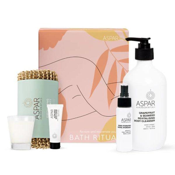bath time gift hamper