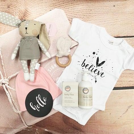 baby girl gift hamper